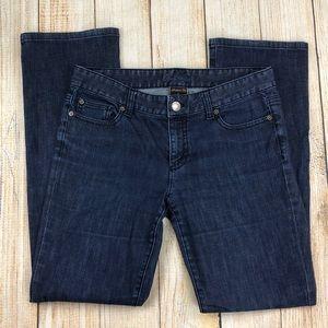 ANN TAYLOR Modern Fit Straight Leg Jeans